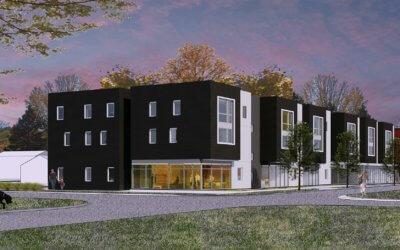 Glen Lake Apartments Construction Progression