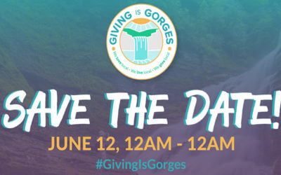 Support INHS on Giving is Gorges on 6/12